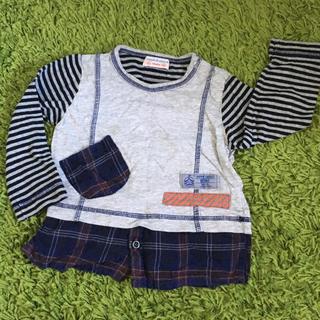 ズッパディズッカ(Zuppa di Zucca)の【ZUPPA DI ZUCCA】重ね着風ロングスリーブTシャツ(Tシャツ/カットソー)
