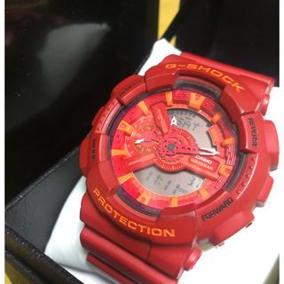 ジーショック(G-SHOCK)のCASIO 腕時計 G-SHOCK ジーショック GA-110AC-4AJF(腕時計(デジタル))
