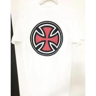 インディペンデント(INDEPENDENT)のインディペンデント independent Tシャツ 白 ホワイト Mサイズ(Tシャツ/カットソー(半袖/袖なし))