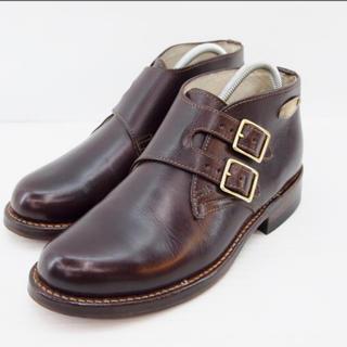 オールデン(Alden)のGLAD HAND×SANTA ROSA ダブルモンク ショートブーツ(ブーツ)