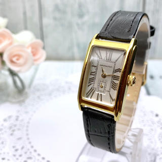 ハミルトン(Hamilton)の【希少】HAMILTON ハミルトン 腕時計 アードモア ゴールド スモセコ(腕時計)