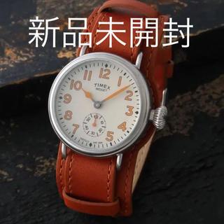 タイメックス(TIMEX)のTIMEX ミジェット 腕時計 白 新品未開封(腕時計(アナログ))