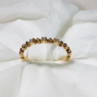 ノジェス(NOJESS)のノジェス  k10 ダイヤ リング(リング(指輪))