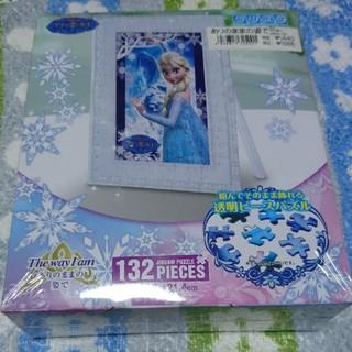 アナトユキノジョオウ(アナと雪の女王)のアナと雪の女王 透明ピースパズル ありのままの姿で(キャラクターグッズ)