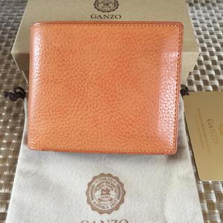 ガンゾ(GANZO)のガンゾ  ミネルバナチュラル小銭入れ付き二つ折り財布(折り財布)