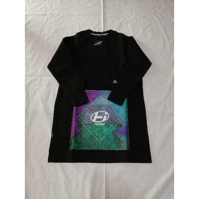 HALFMAN(ハーフマン)のHALFMAN カットソー ブラック モード ストリート ロング丈 メンズのトップス(Tシャツ/カットソー(七分/長袖))の商品写真