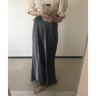 ロキエ(Lochie)のvintage marmaid satin skirt(ロングスカート)