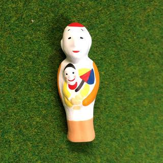 カイヨウドウ(海洋堂)の尾崎人形 赤毛の子守  まめ郷土玩具(その他)