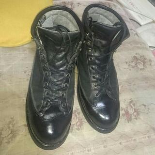 ダナー(Danner)のダナーライト 激レア→  刺繍タグ 9=27.0センチ  Dワイズ相当 ブラック(ブーツ)