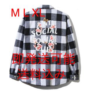 アンチ(ANTI)のASSC19ss anti social social club ネルシャツ(シャツ)
