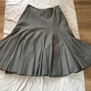 ヴァンドゥーオクトーブル(22 OCTOBRE)のスカート★ネオスティル★40サイズ(ひざ丈スカート)