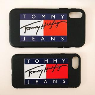 buy popular a74cf 257cf TOMMY HILFIGER - 【即発送】TOMMY JEANS case for iPhoneの通販|ラクマ