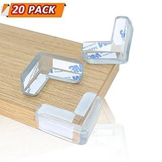 【新品】20 パック 透明 テーブル コーナーガード(コーナーガード)