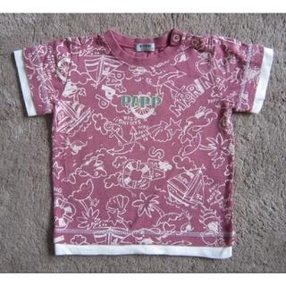 パプ(papp)の【Papp】パ゚プ総柄半袖Tシャツ90(Tシャツ/カットソー)