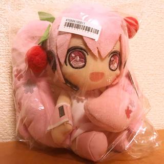 タイトー(TAITO)の桜ミク ぬいぐるみ 通常バージョン(ぬいぐるみ)