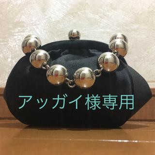 ティファニー(Tiffany & Co.)のティファニー【正規品】 サテン がま口パーティーバッグ(ハンドバッグ)