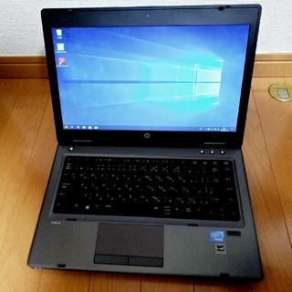ヒューレットパッカード(HP)のHP ノートパソコン mt40 Windows10 Pro SSD搭載(ノートPC)
