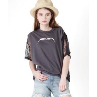 アールエヌエー(RNA)のRNA サイドレースルーズTシャツ (Tシャツ(半袖/袖なし))