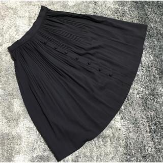パウダーシュガー(POWDER SUGAR)のPOWDER SUGAR プリーツスカート(ひざ丈スカート)