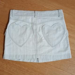 ハコ(haco!)のフェリシモ☆haco nusy jeans☆ハートポケット デニムミニスカート(ミニスカート)