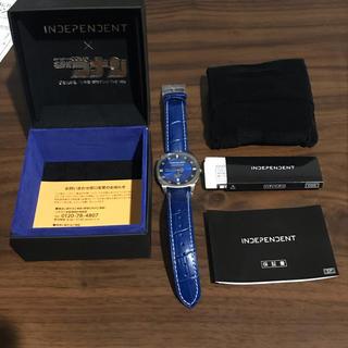 インディペンデント(INDEPENDENT)のINDEPENDENT×名探偵コナン コラボウオッチ 工藤新一モデル(腕時計(アナログ))