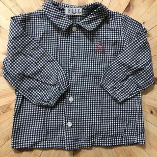 ELLE チェックシャツ 95