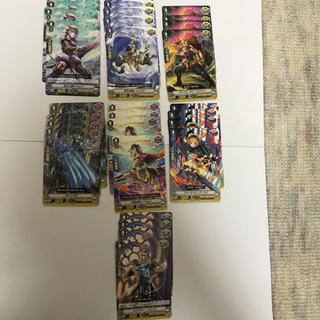 カードファイトヴァンガード(カードファイト!! ヴァンガード)の【デッキパーツ】ゴールドパラディン25種100枚セット(シングルカード)