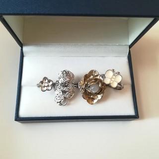 ロキエ(Lochie)の【used】指輪 まとめ売り 花 蝶々(リング(指輪))