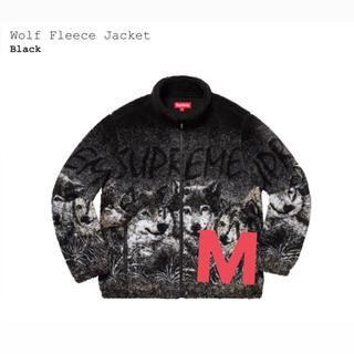 シュプリーム(Supreme)のSupreme Wolf Fleece Jacket 黒 M(その他)