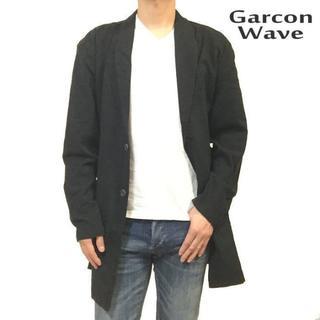 ギャルソンウェーブ(Garcon Wave)のギャルソンウェーブ 新品 チェスターコート コーディガン ブラック XL(チェスターコート)