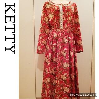 ケティ(ketty)の【ketty】ワンダフルワールド カネコイサオ好きに  花柄セットアップ(セット/コーデ)