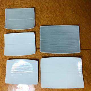 ハクサントウキ(白山陶器)の新品未使用 白山陶器5枚まとめて(食器)