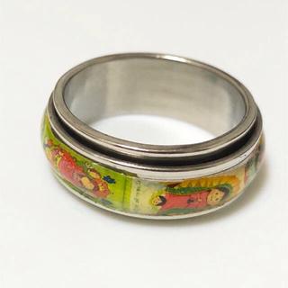 同時購入で300円 ステンレス指輪 イラスト マリアと天使(リング(指輪))