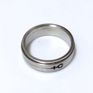 同時購入で300円 ステンレス指輪 +c(リング(指輪))
