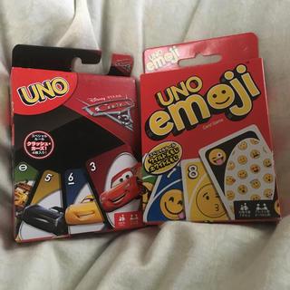 ウーノ(UNO)のUNO  カーズ3&emojiバージョン  新品未開封(トランプ/UNO)