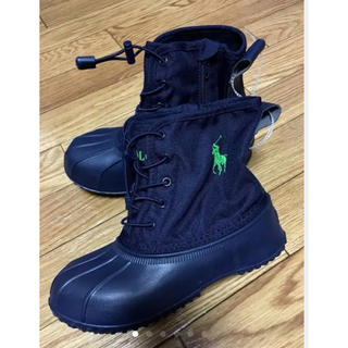 ポロラルフローレン(POLO RALPH LAUREN)の【新品】ラルフローレン ショートブーツ 超軽量 雨の日 雪の日 正規品(長靴/レインシューズ)
