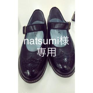 ハルタ(HARUTA)のハルタ ストラップシューズ 24.5(ローファー/革靴)