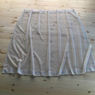 ムジルシリョウヒン(MUJI (無印良品))のカーテン レース(レースカーテン)