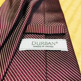 ダーバン(D'URBAN)の2本で1点・5点で3点無料! ダーバン DARBAN ネクタイ 赤(ネクタイ)