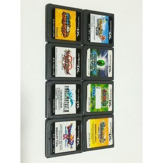 ニンテンドーDS(ニンテンドーDS)の○8本セット(メイプルストーリーDS 他7本)(携帯用ゲームソフト)