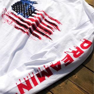 デウスエクスマキナ(Deus ex Machina)のLUSSO SURF 星条旗Tシャツ L☆ルーカ ベイフロー(Tシャツ/カットソー(半袖/袖なし))