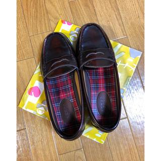 アスビー(ASBee)の高校ローファー(ローファー/革靴)