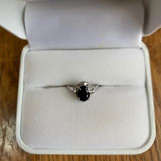 天然サファイア シルバー925リング(リング(指輪))