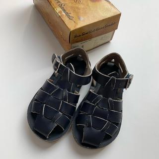 コドモビームス(こどもビームス)のSalt Water Sandals(ソルトウォーター)Shark navy 8(サンダル)