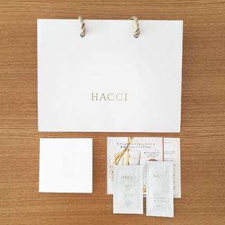 ハッチ(HACCI)の【ギフトセット・サンプル】HACCI ショップ袋・メッセージカード・サンプル(ショップ袋)