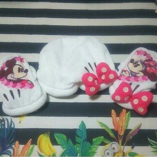 ディズニー(Disney)のDisney☆ミッキーミニー☆ラブラブ♡カップル用手袋♡(手袋)