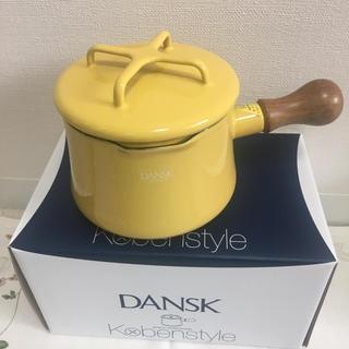 ダンスク(DANSK)のDANSK 片手鍋 イエロー(鍋/フライパン)