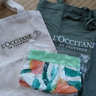 ロクシタン(L'OCCITANE)のロクシタン トートバッグ2点+ポーチ1点(トートバッグ)