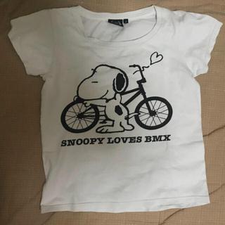 フォーサーティ(430)のthe fourthirty brandのスヌーピーTシャツ(Tシャツ(半袖/袖なし))