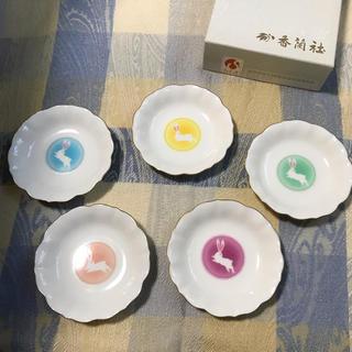 コウランシャ(香蘭社)の香蘭社 小皿 5枚セット☆(食器)
